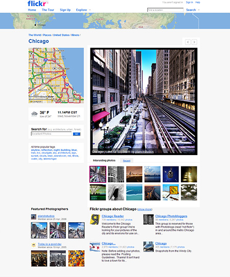 Flickr Introduces Places