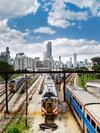 Metra Rail Yard