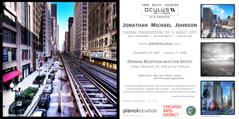 Flyer for Oculus Show